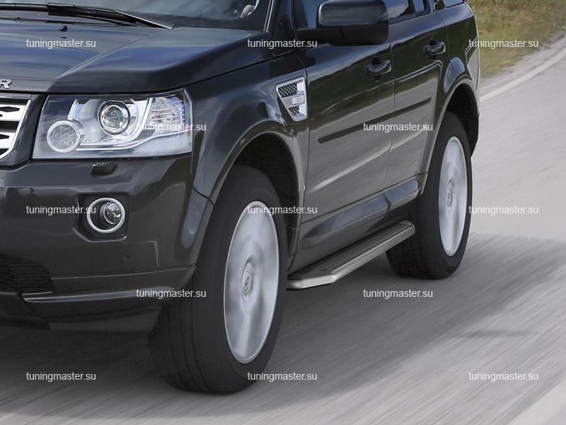 Пороги Land Rover Freelander 2 (Premium)