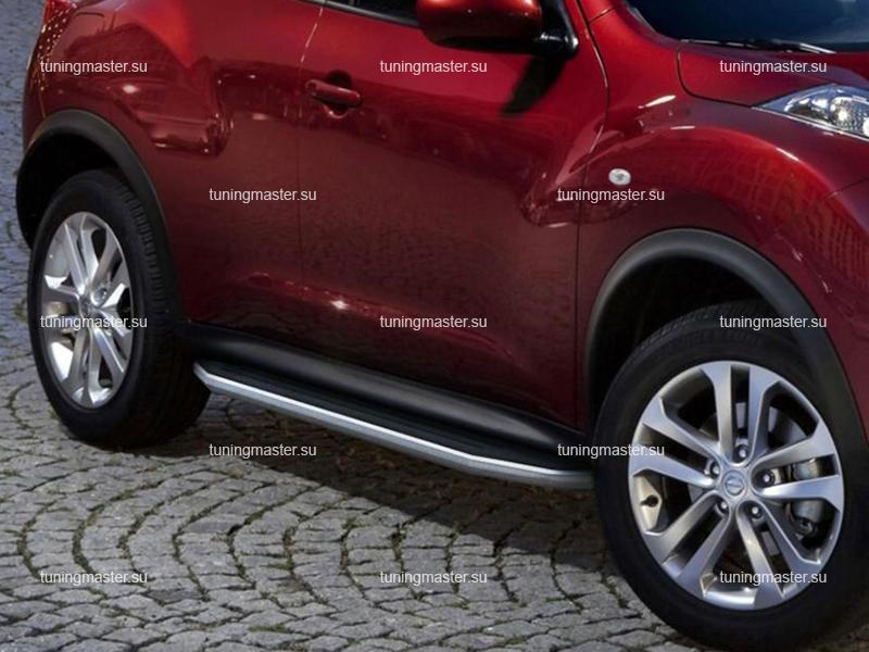 Пороги Nissan Juke 2WD (Premium)