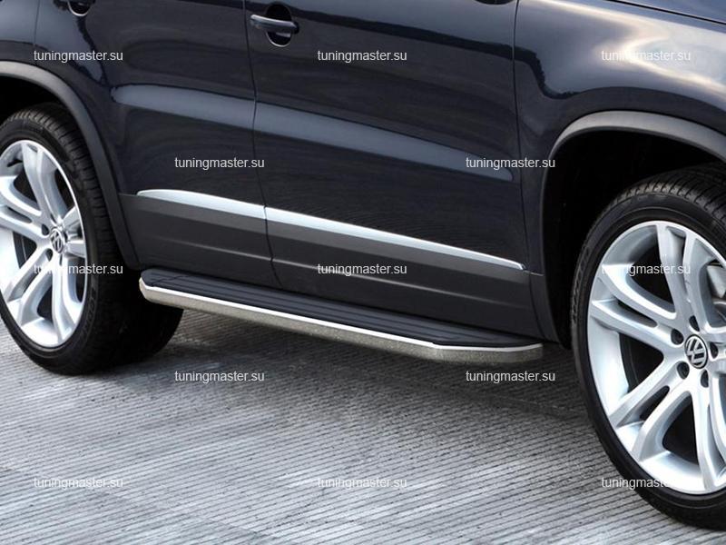Пороги Volkswagen Tiguan (Premium)