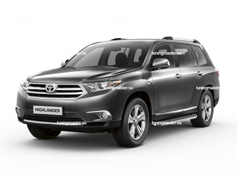 Пороги Toyota Highlander (Premium)