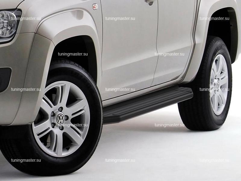 Пороги Volkswagen Amarok (Black)