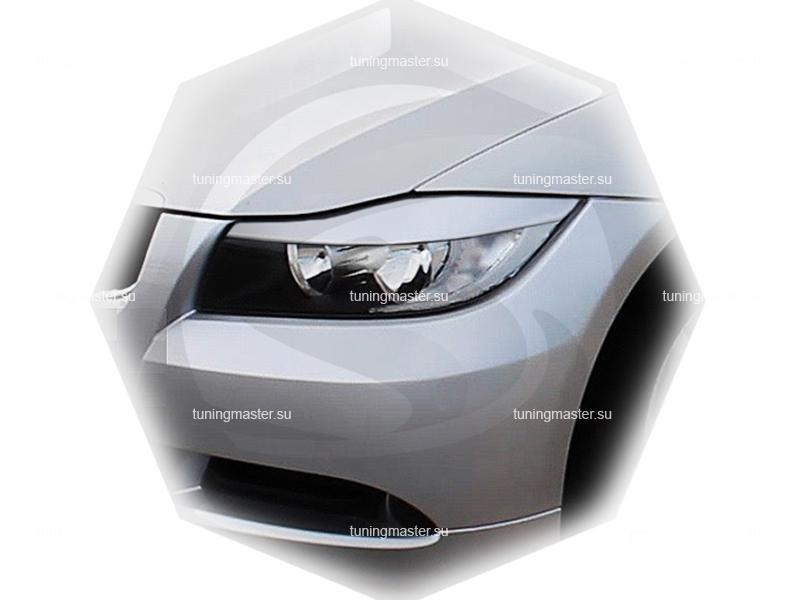 Накладки на фары BMW 3 (E90)