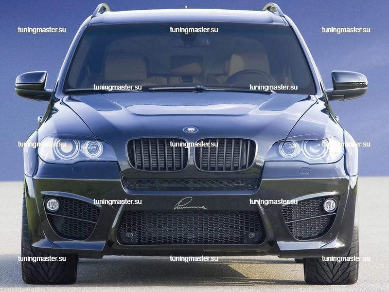 Накладки на фары BMW X-5 (E70)