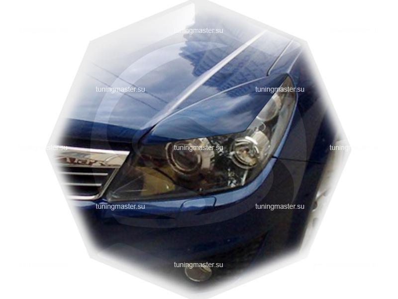 Накладки на фары Opel Astra H