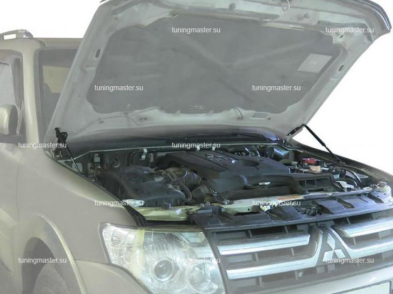 Амортизаторы капота для Mitsubishi Pajero 4