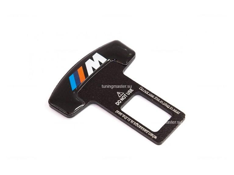 """Заглушка ремня безопасности с логотипом BMW """"М"""""""