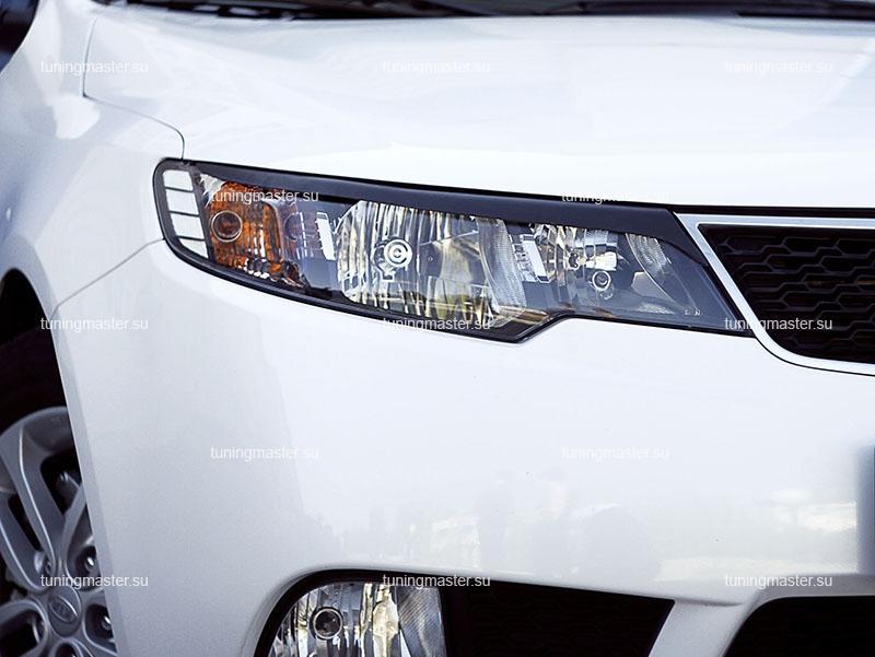 Накладки на фары Kia Cerato