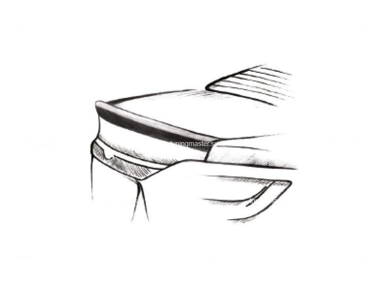 Спойлер на крышку багажника Kia Cerato