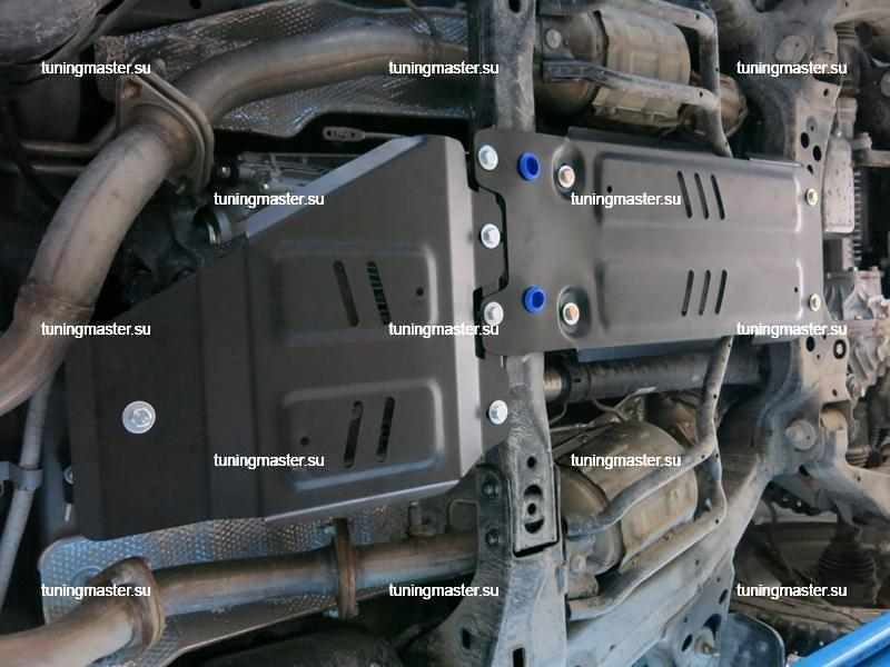 Защита КПП Toyota Land Cruiser 200 2
