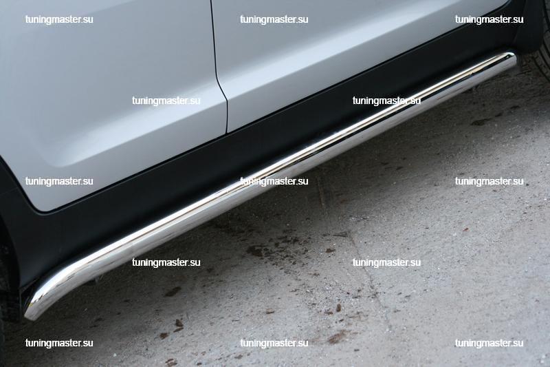 Пороги Kia Sportage труба Ø60 3
