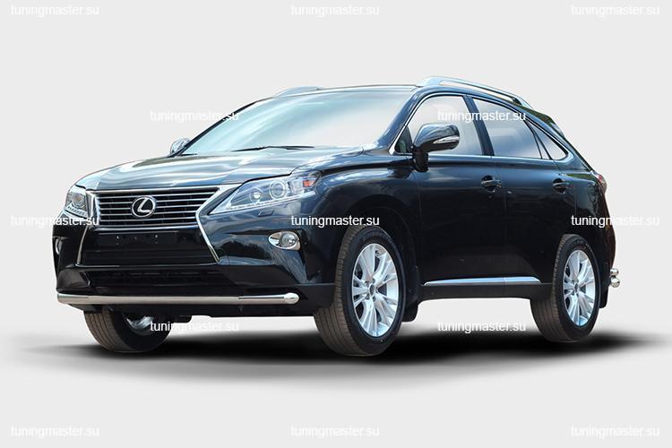 Защита переднего бампера Lexus RX 450H труба Ø60