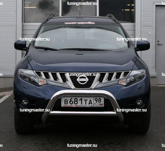 Кенгурин низкий Nissan Murano Ø76 2