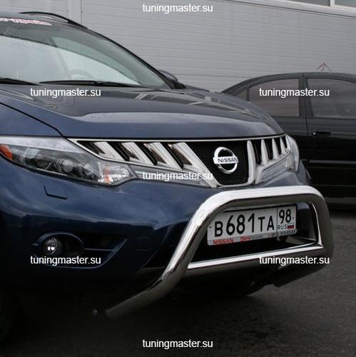 Кенгурин низкий Nissan Murano Ø76