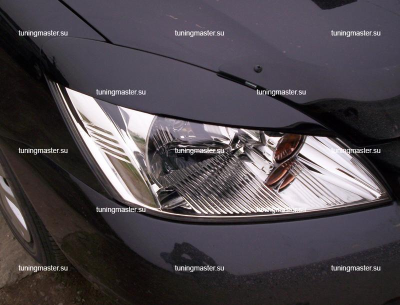 Накладки на фары Mitsubishi Lancer 9