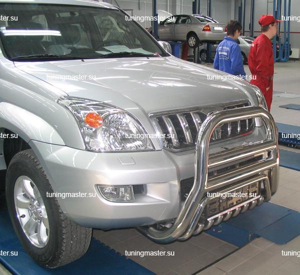 Кенгурин высокий Toyota Land Cruiser Prado 120 Ø76/76