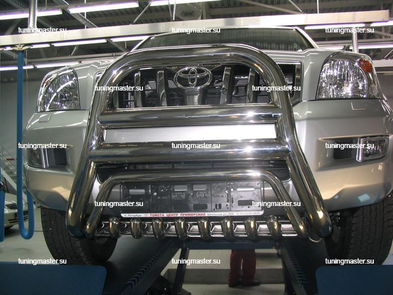 Кенгурин высокий Toyota Land Cruiser Prado 120 Ø76/76 2