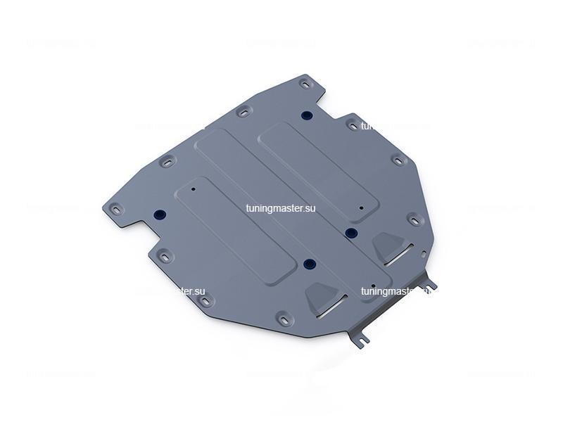Защита КПП Audi Q7 (алюминиевая)