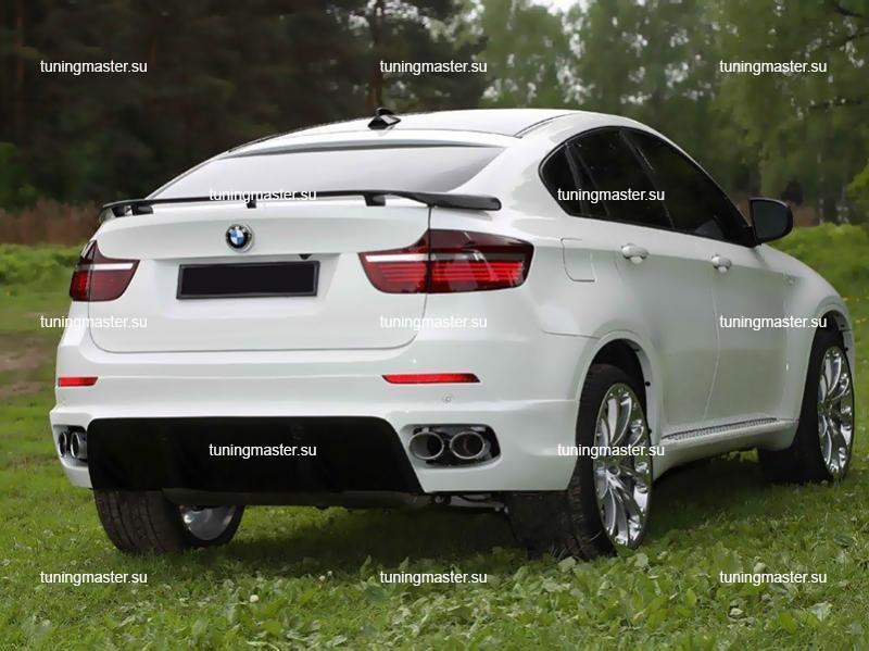 Спойлер на крышку багажника BMW X6 HAMANN