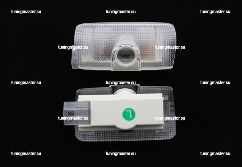 LED проектор дверной с логотипом Toyota (Carsys) 2