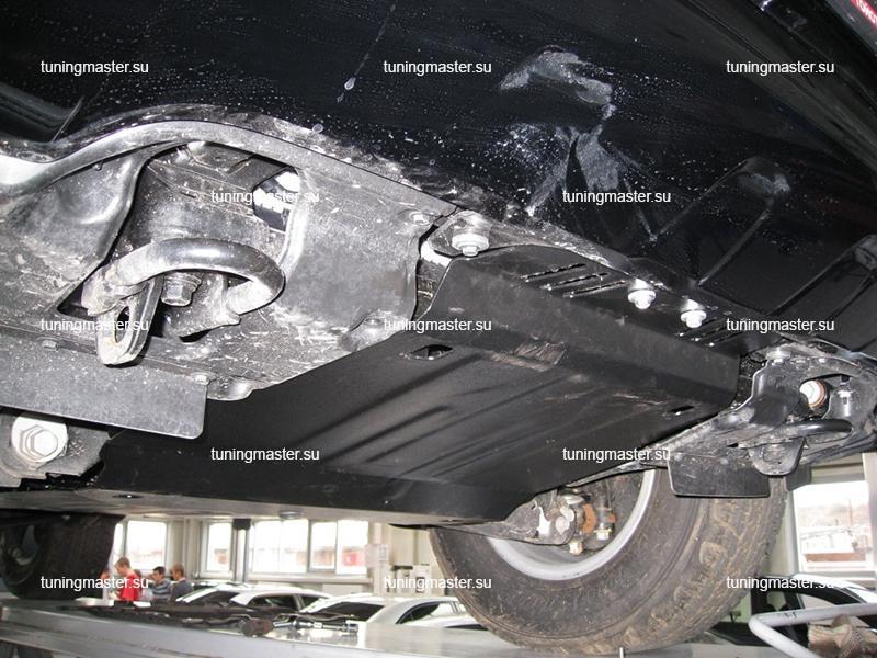 Защита картера и КПП Toyota Land Cruiser 200 (2 части)
