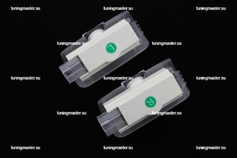 LED проектор дверной с логотипом Toyota (Carsys) 3