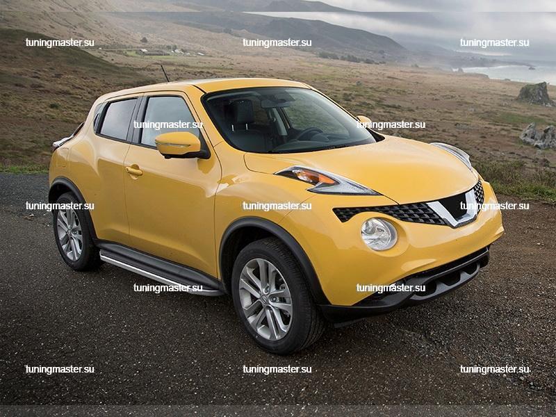 Пороги Nissan Juke 4WD (Premium) 2
