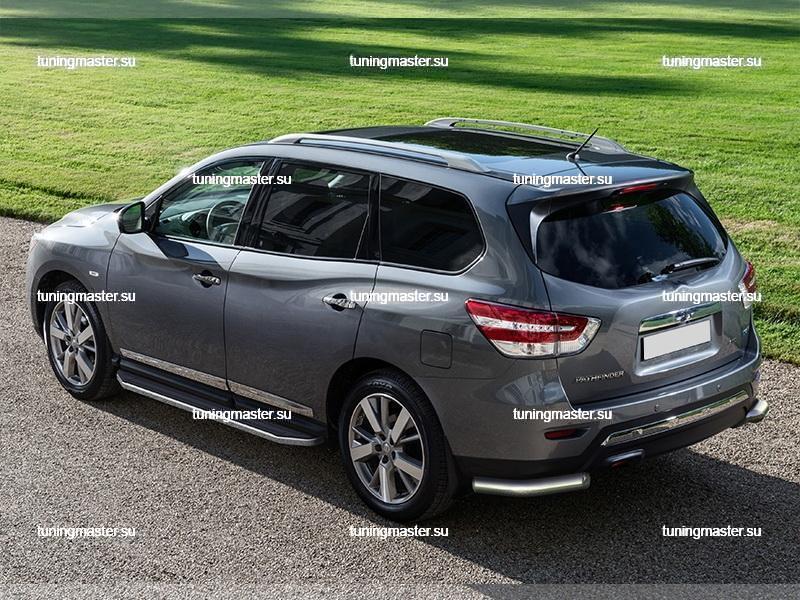 Пороги Nissan Pathfinder (Premium) 2
