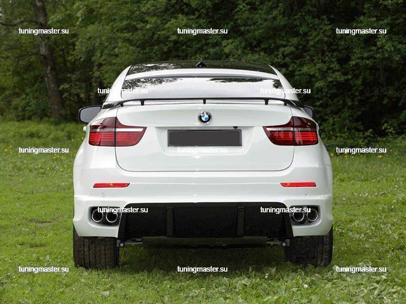 Спойлер на крышку багажника BMW X6 2