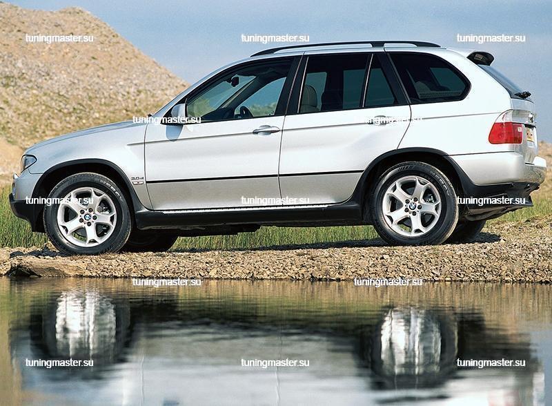 Пороги BMW X5 (E53) Original Style с арками 2