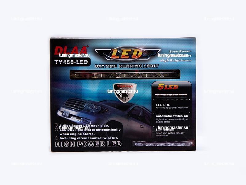 Дневные ходовые огни Toyota Land Cruiser 200 2