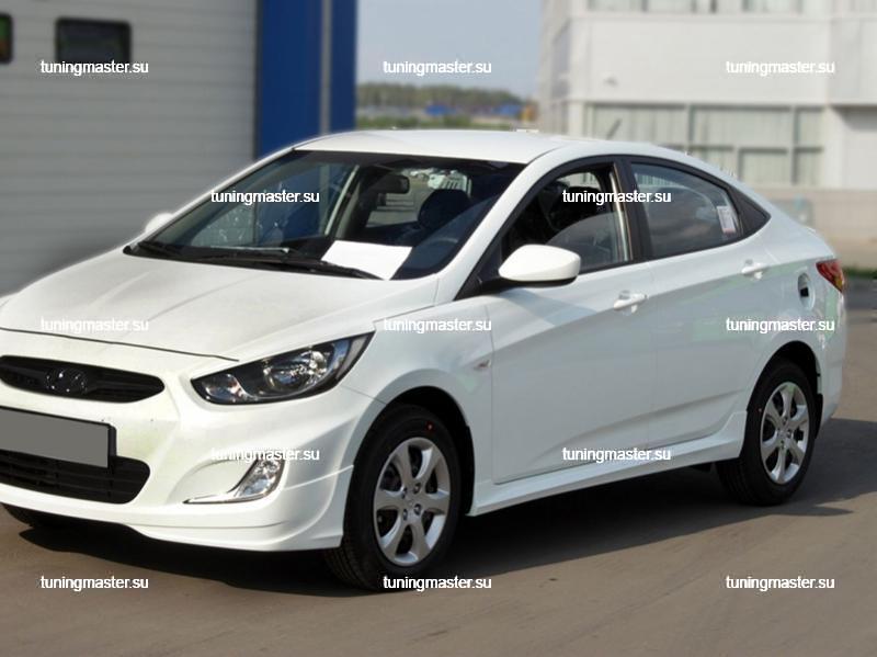 Пороги Hyundai Solaris '11- 2