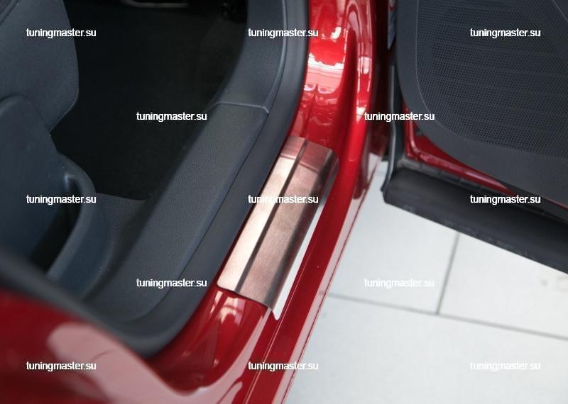 Накладки на пороги Volkswagen Tiguan STANDART 2