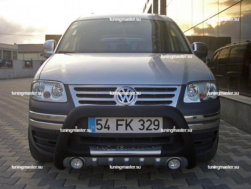 Защита переднего бампера Volkswagen Caddy `04 (Lena) 3