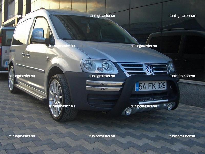 Защита переднего бампера Volkswagen Caddy `04 (Lena) 4