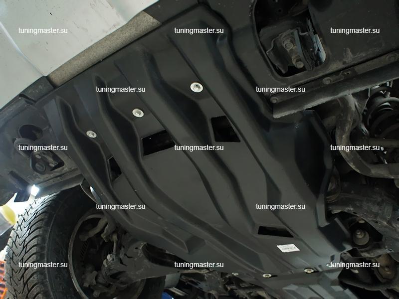 Композитная защита картера Toyota Land Cruiser 200 (2 части)