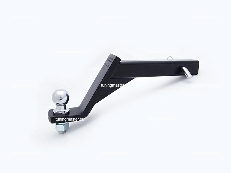 Крюк фаркопа универсальный с занижением 15 см