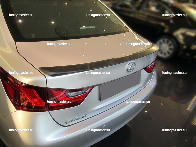 Спойлер на крышку багажника Lexus GS