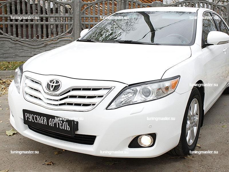 Накладки на фары Toyota Camry V40 (длинные) 2