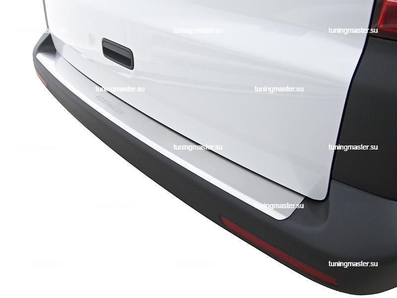 Накладка на задний бампер Volkswage Transporter Т5 / Multivan с загибом 3