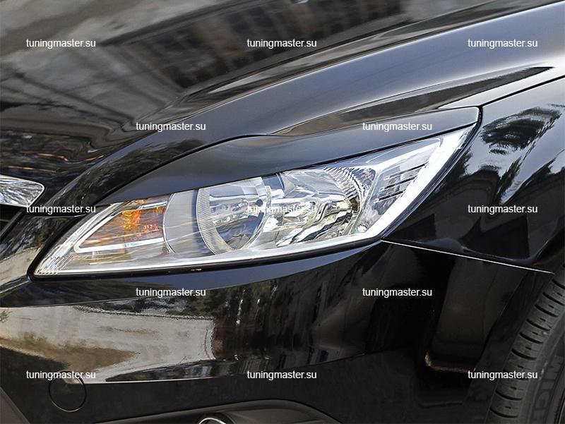 Накладки на фары Ford Focus 2 рестайлинг