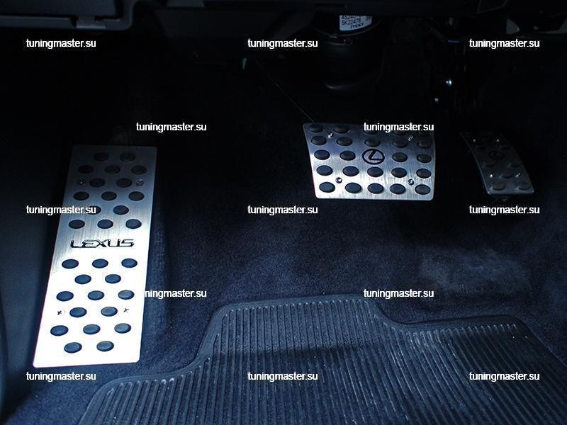 Накладки на педали Lexus LX 470 / 570 3