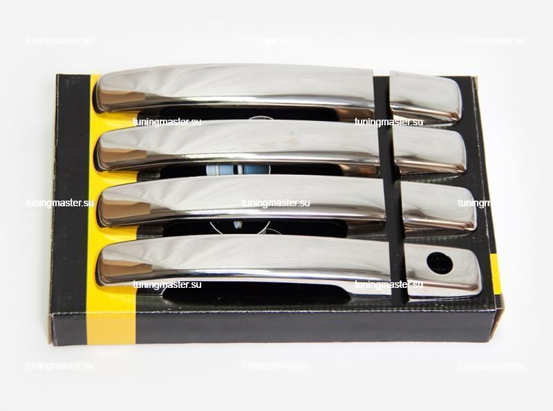 Накладки на ручки дверей Nissan Navara 2