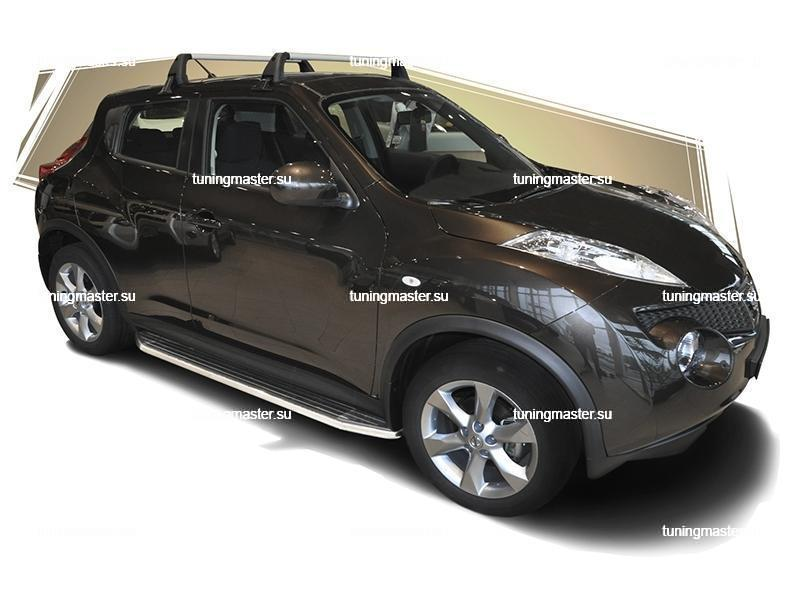 Пороги Nissan Juke 4WD (Premium) 3