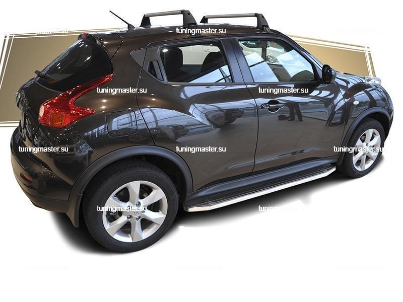 Пороги Nissan Juke 4WD (Premium) 4