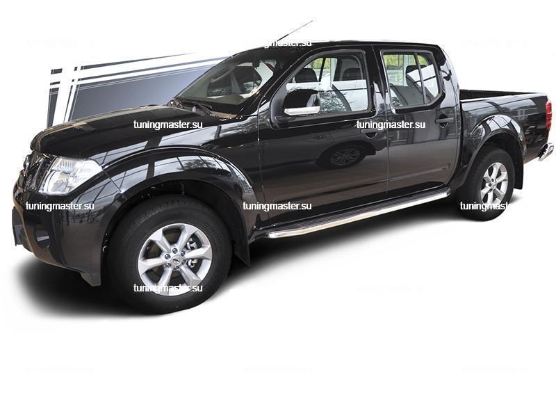 Пороги Nissan Navara (Premium) 4