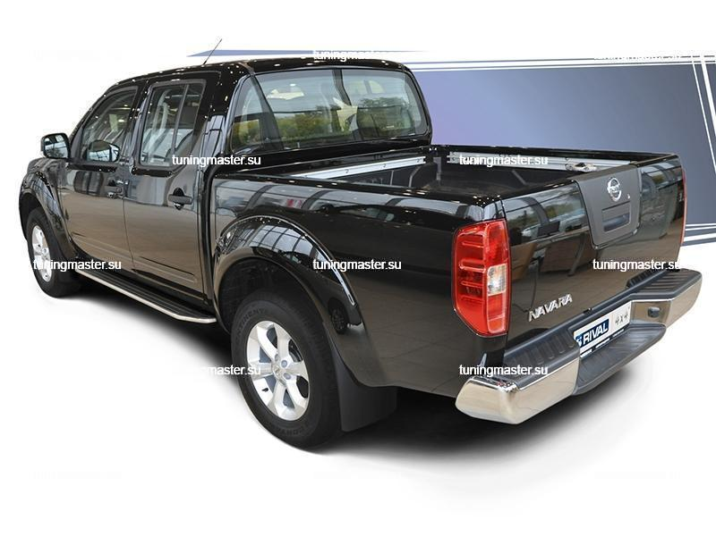 Пороги Nissan Navara (Premium) 3