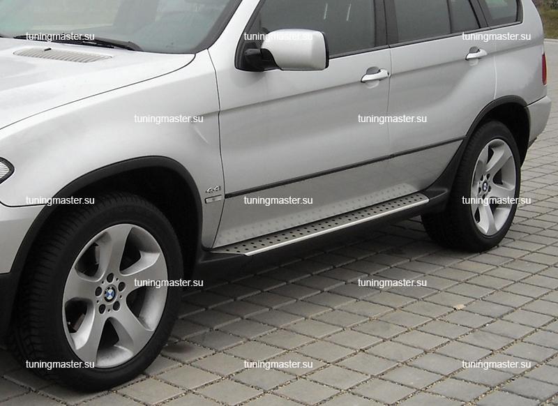 Пороги BMW X5 (E53) Original Style с арками