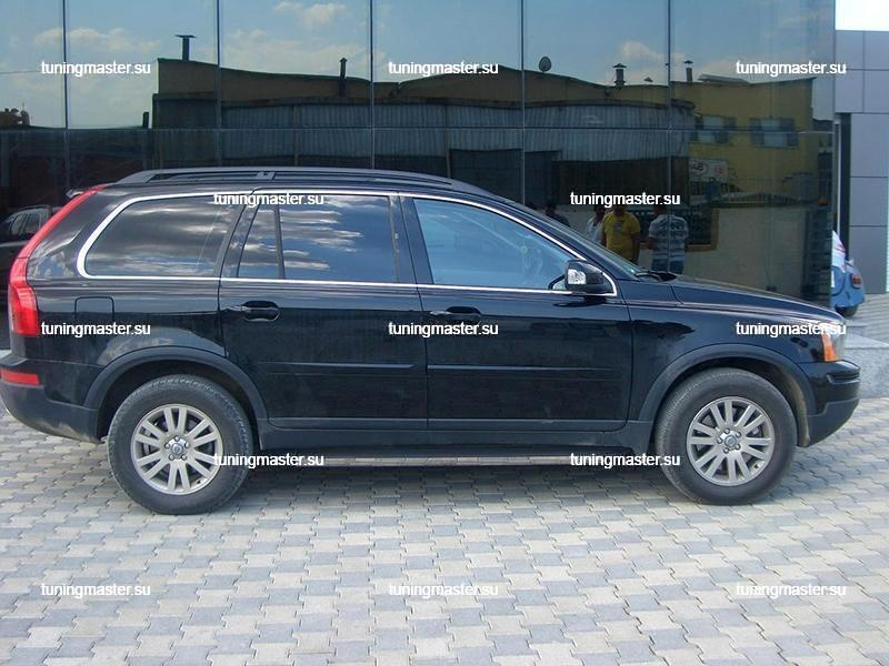 Пороги Volvo XC90 (Elegance Black) 2