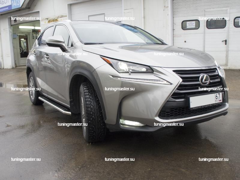 Пороги Lexus NX (Premium) 6