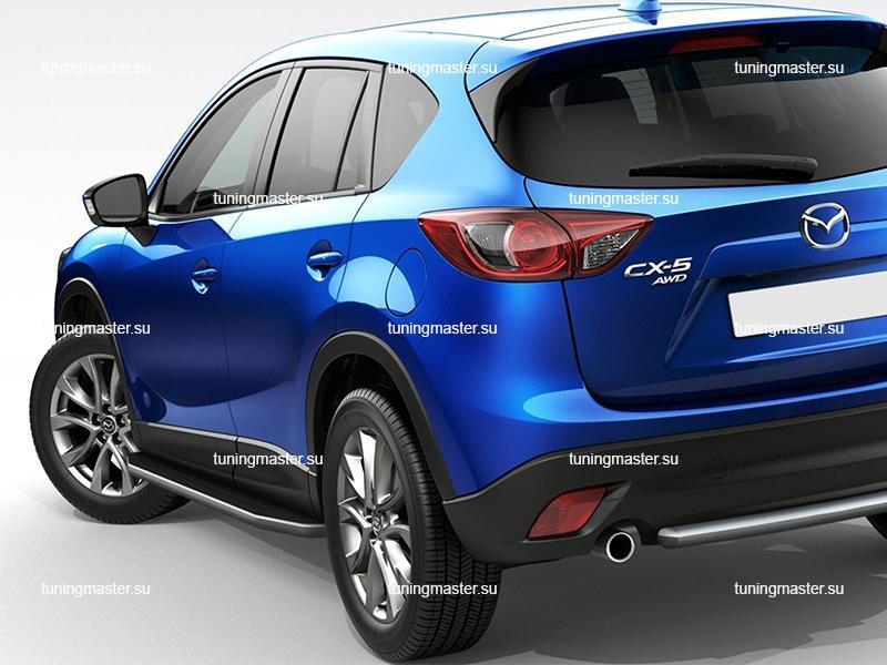 Пороги Mazda CX-5 (Premium)